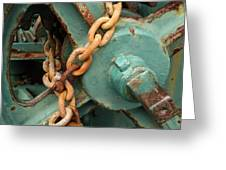 Rust And Decay Greeting Card