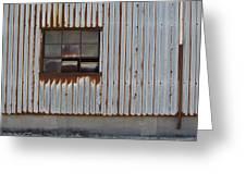 Rust And Window 1 Greeting Card