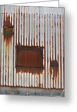 Rust And Window 3 Greeting Card