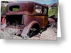 Rust Bucket Greeting Card