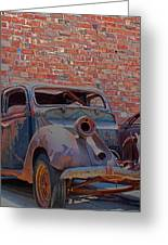 Rust In Goodland Greeting Card