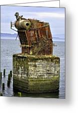 Rusted Equipment Greeting Card