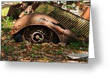 Rusted Greeting Card by Louise Heusinkveld