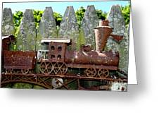 Rusted Rails Greeting Card