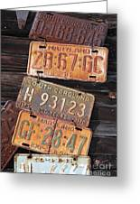 Rusted States Greeting Card