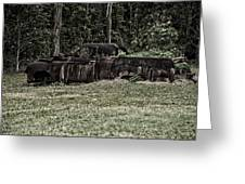 Rusted Truck Greeting Card