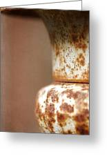 Rusted Urn Greeting Card