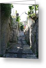 Rustic Alley  -  Provence Greeting Card