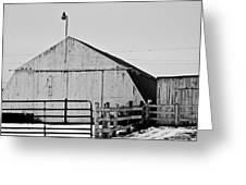 Rustic Barn 2 - 2 Greeting Card