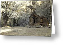 Rustic Cabin Greeting Card