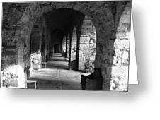 Rustic Castle Inn 3 Greeting Card