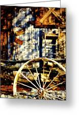 Rustic Decor Greeting Card