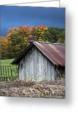 Rustic Farm Shed Greeting Card