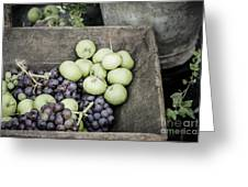 Rustic Fruit Greeting Card