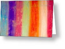 Rustic Rainbow Greeting Card