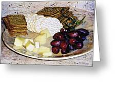 Rustic Repast Greeting Card