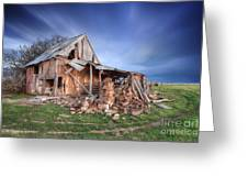 Rustic Ruin Greeting Card by Shannon Rogers