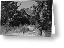 Rustic Shed 7 Greeting Card