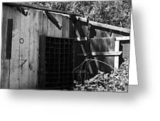 Rustic Shed Greeting Card