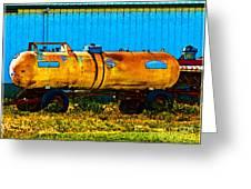 Rustic Tank Art Greeting Card