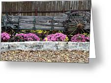 Rustic Wagon Greeting Card