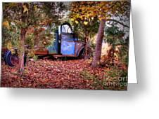 Rusting Truck Greeting Card