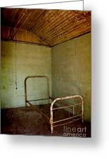Rusty Bed Greeting Card