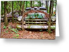 Rusty Caddy 3 Greeting Card