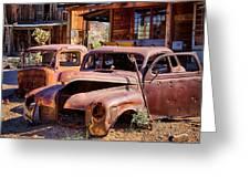 Rusty Cars  Greeting Card