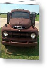 Rusty Ford Truck Greeting Card