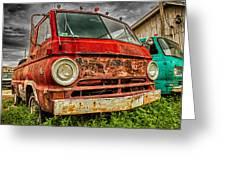 Rusty Dodge Greeting Card