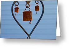 Rusty Heart 1 Greeting Card