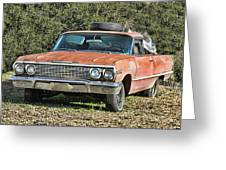 Rusty Impala Greeting Card