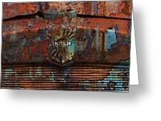 Rusty Nash Greeting Card