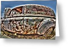 Rusty Old American Dreams - 4 Greeting Card