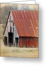 Rusty Ole Barn Greeting Card