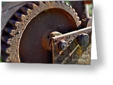 Rusty Picking Greeting Card by Gwyn Newcombe