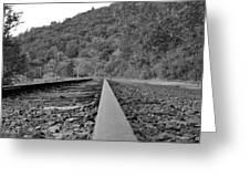 Rusty Rail Greeting Card