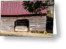 Rusty Red Memories Greeting Card by Jinx Farmer