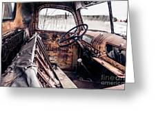 Rusty Relic Truck Greeting Card