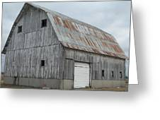Rusty Roof Barn Greeting Card