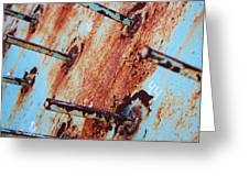 Rusty Spikes Greeting Card