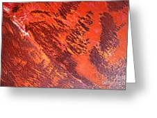 Rusty Textures Greeting Card