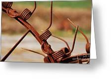 Rusty Tines Greeting Card