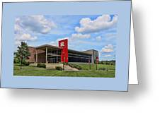 Rutgers Visitor Center Greeting Card