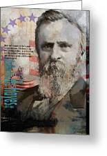Rutherford B. Hayes Greeting Card