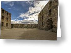 Ruthven Barracks - 5 Greeting Card