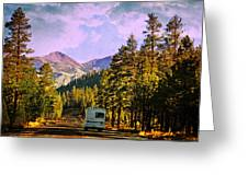 Rv And See America Greeting Card