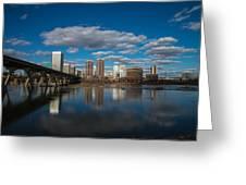 Rva Cityscape Greeting Card