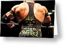 Ryback Feed Me More Greeting Card